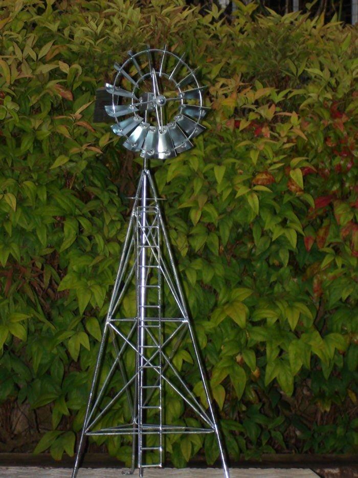 2 4 inch Model Windmill 1 700x933 - Table Top Model Windmill
