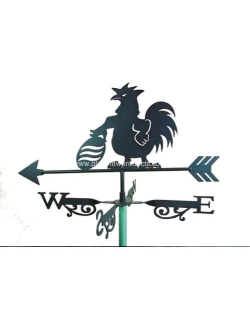 Aussie Football rooster1 500x650 - Football Rooster Weathervane