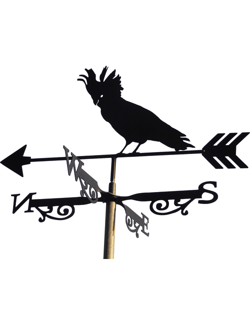 Cockatoo X R1 1 500x650 - Cockatoo Weathervane