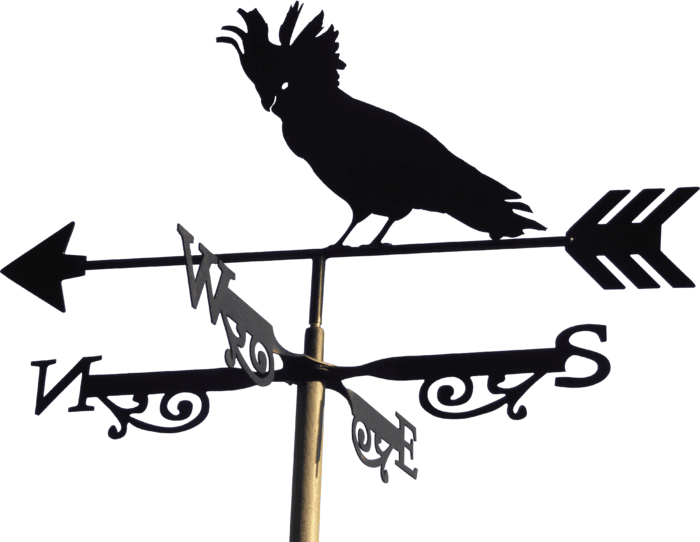 Cockatoo X R1 700x542 - Cockatoo Weathervane