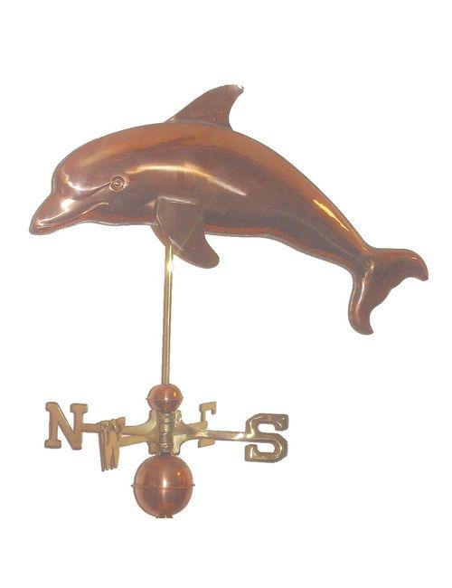 DolphinPolished23RtoL - Dolphin Polished Weathervane