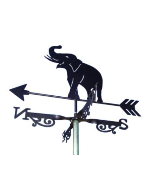 Elephant weathervane 500x650 - Elephant Weathervane