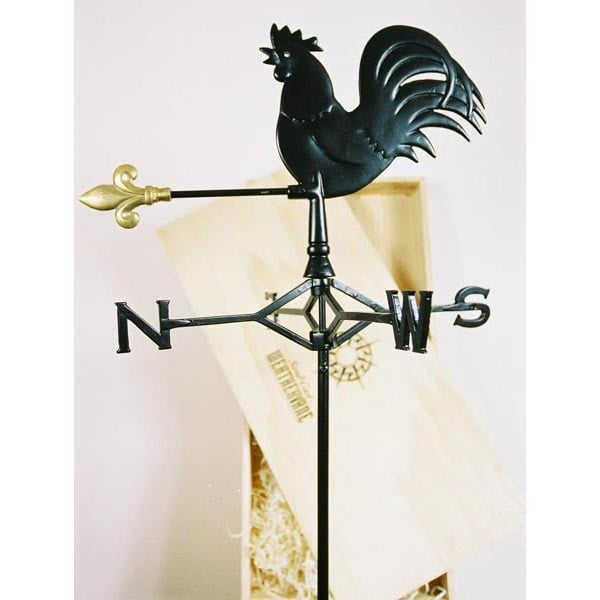 Boxed Rooster Weathervane