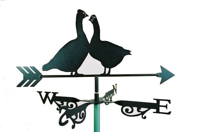 Geese 2 F1020007 1 - Geese Weathervane