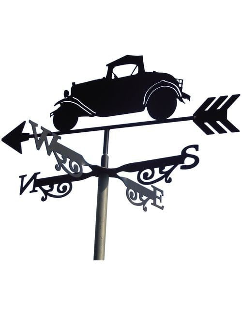 Old Car XX R1 1 500x650 - Old Car Weathervane