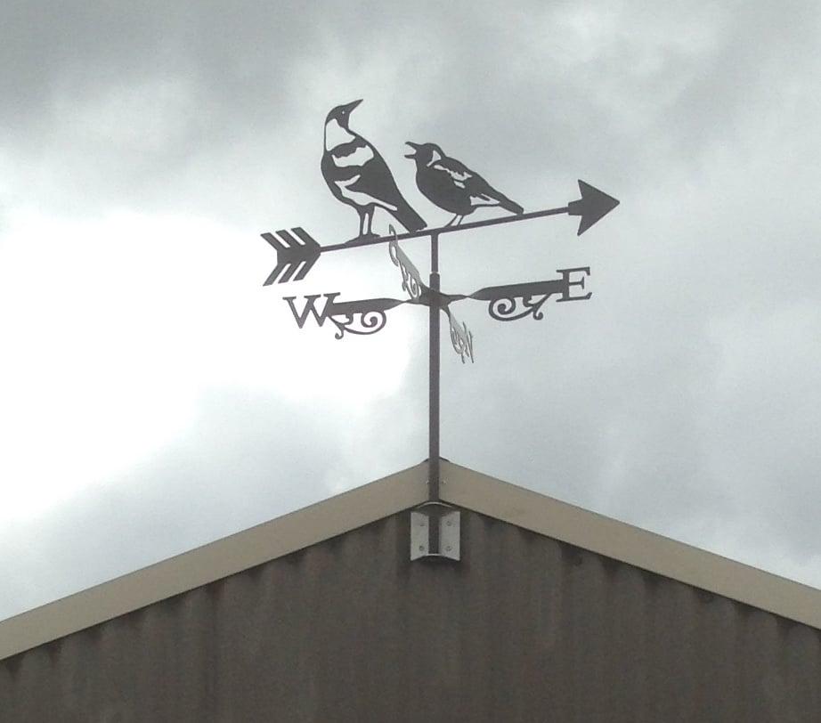 Peter Breakwell Magpie WVane 2 - Magpie Weathervane