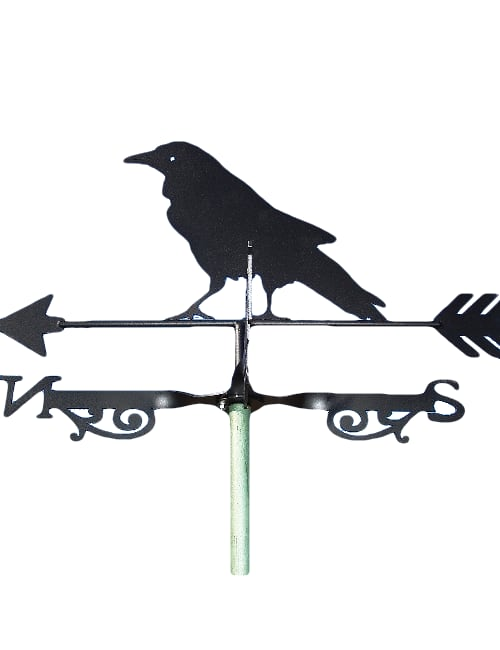 Raven weathervane - Raven Blackbird Weathervane