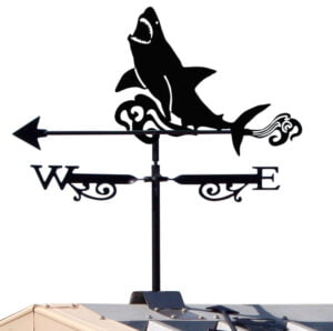Ridge Bracket Great White Weathervane x 1 300x298 - Magpie Weathervane