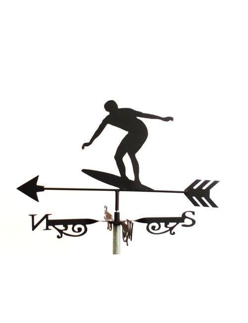 Surfer Weathervane 500x650 - Surfer Weathervane