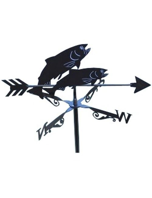 Trout RisingX 1 - Trout Rising Weathervane
