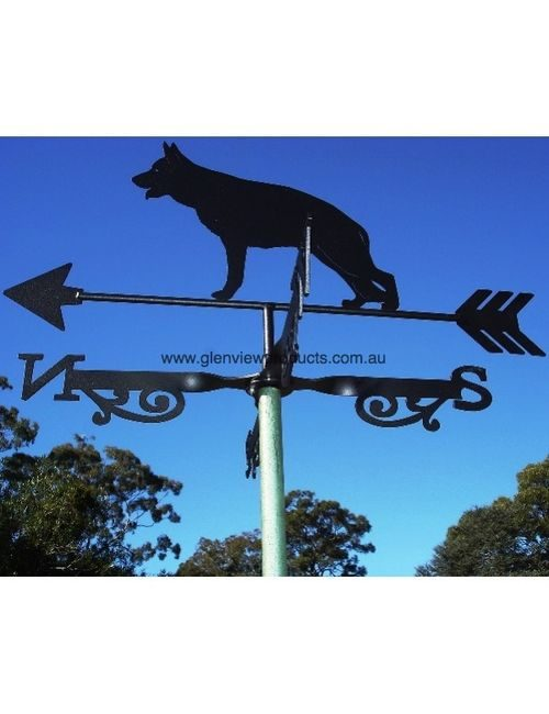 alsatian weathervane2 500x650 - German Shepherd Weathervane