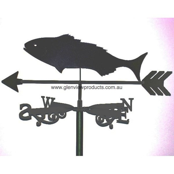 Black Fish Weathervane