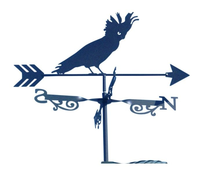 daryl brown cockatoo X 700x604 - Cockatoo Weathervane