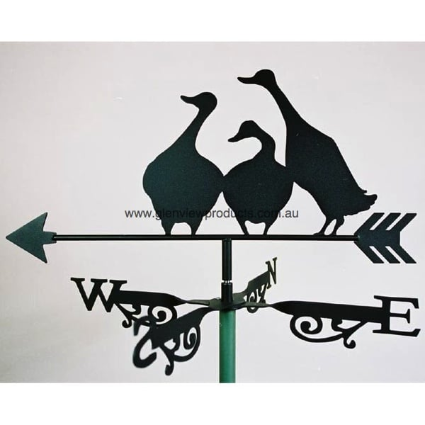 Duck Family Weathervane