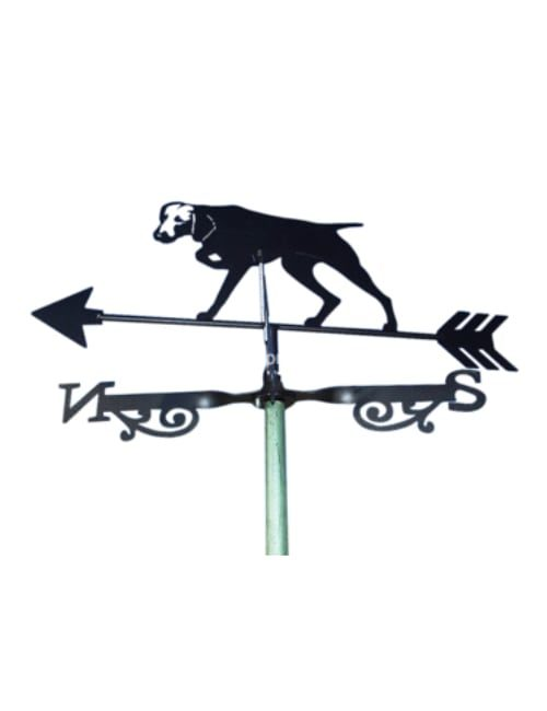 hunting dog weathervane 1 500x650 - Hunting Dog Weathervane