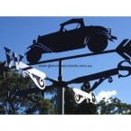 old car weathervane 145x145 Old Car Weathervane