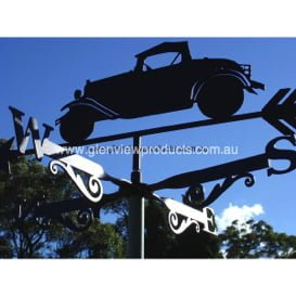Old Car Weathervane