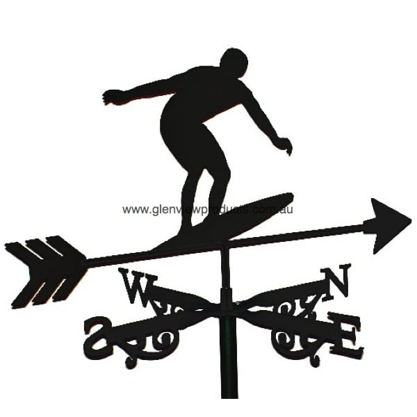 Surfer Weathervane