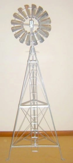 4 Foot Model Windmill