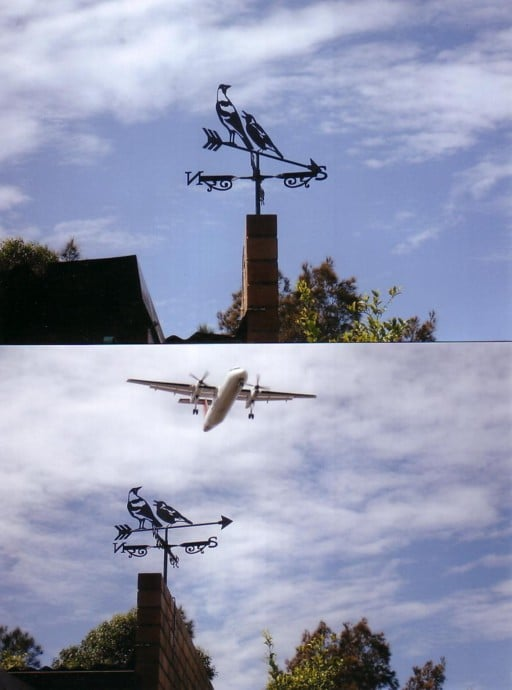 CLIENTS PICTURES 1 - Testimonial: Magpie Weathervane At Mascot