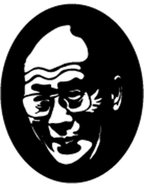 Dalai Lama panel 500x650 - Dalai Lama Panel