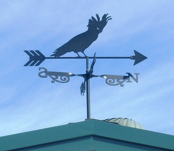 Cockatoo Weathervane