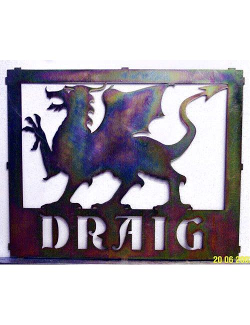 Griffin Dragon Panel - Griffin Panel