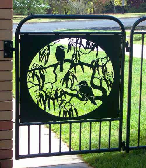 Kookaburra Gate Panel