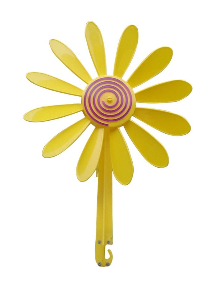 Yellow Daisy Vane 5 700x933 - Happy Daisy Windvane