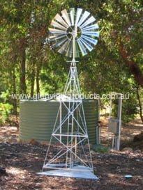 Pumping Windmill