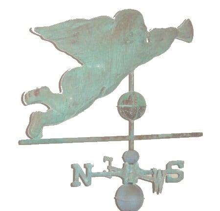 Antiqued Copper Weathervanes