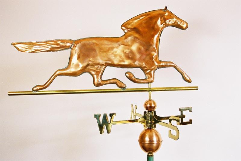 Testimonial: Horse Weathervane