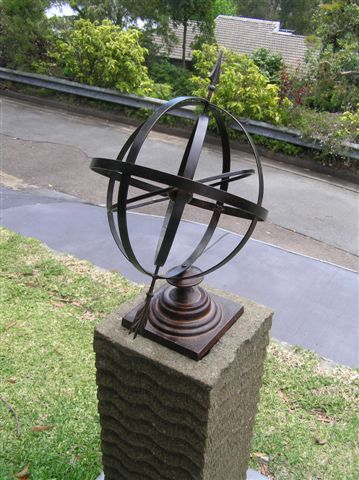 sundial005 - Armillary Sphere Sun Dial