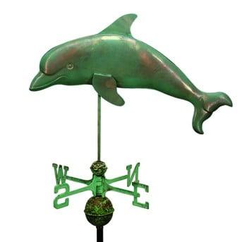 vertigo dolphin - Dolphin Weathervane Antiqued
