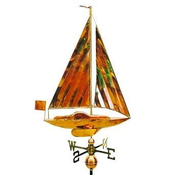 Studio Sail Boat - Sailboat Weathervane