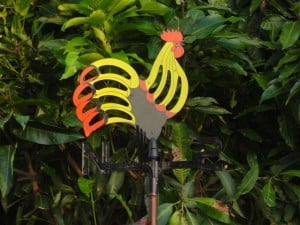 Cottage Rooster Weathervane