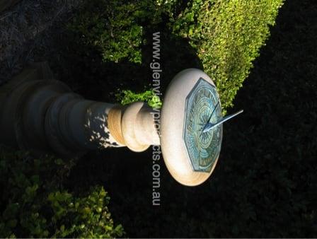 Sun Dial on Pedestal