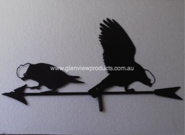 Galahs2 - Kookaburra Weathervane