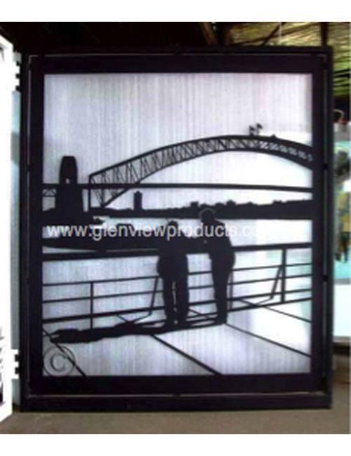 Harbour gate 1 500x650 - Harbour Bridge gate & Wall panel