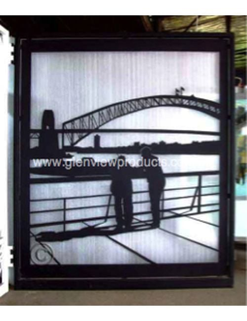 Harbour gate 1 - Harbour Bridge gate & Wall panel