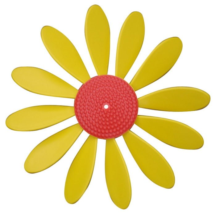 Spinning Happy Daisy Yellow - Red