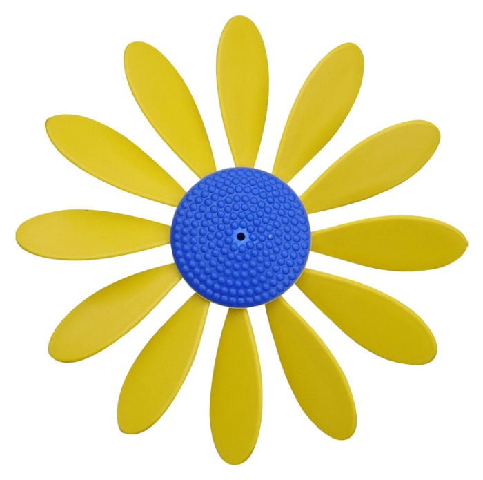 Spinning Happy Daisy Yellow - Blue