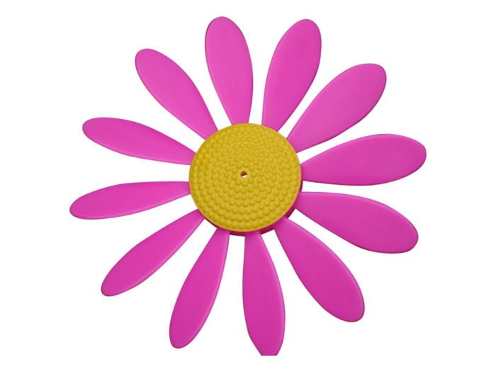 Spinning Happy Daisy Pink - Yellow