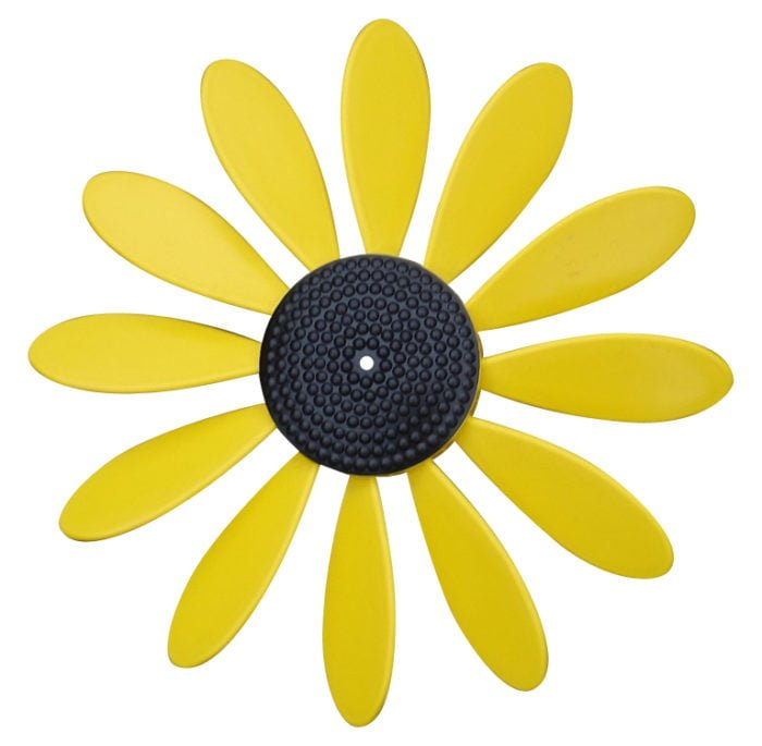 Spinning Happy Daisy Yellow - Black