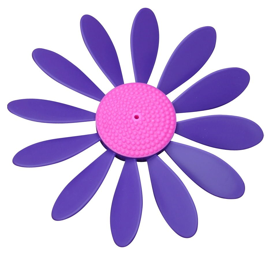 Spinning Happy Daisy Purple - Pink