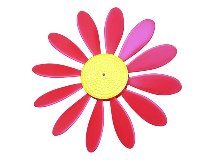 Spinning Happy daisy Red - Yellow