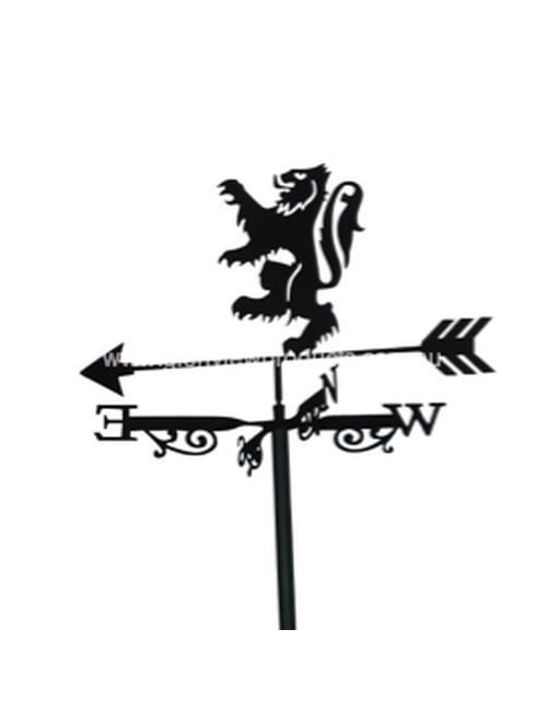 Scottish Lion XL 1 500x650 - Scottish Lion Weathervane