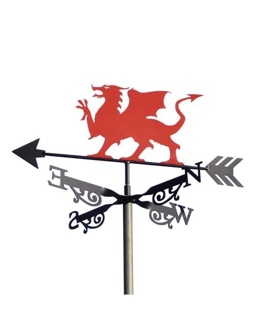 Welsh Griffin 1 2 1 500x650 - Welsh Dragon Weathervane