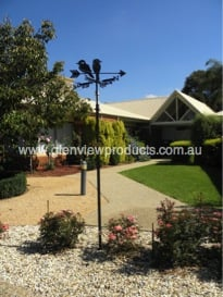 Weathervane at Warramunda Village Kyabram - Testimonial Kookaburra Weather Vane Warramunda Village