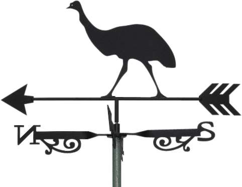 Emu Weathervane